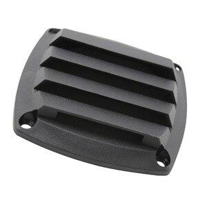 Image 4 - 3 Polegada preto plástico louvered aberturas ventilação marinha ventilação para barco iate acessórios de ventilação de ar 8.5cm * 8.5cm * 2.5cm