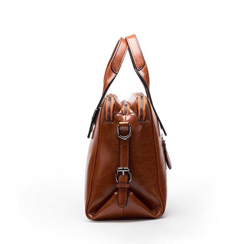 Real Cow Leather Las Handbags Women Genuine Bags Totes Messenger Hign Quality Designer Luxury Brand Bag In Top Handle From Luggage