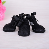 Waterproof Neoprene Dog Rain Boots Pet Footware Snow Boots With Flare Strips Paw Protecter Pet Products