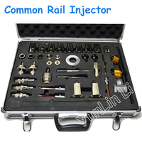 38pcs Common Rail Injector Disassembly Tool + Aluminum Box Full Set of Common Rail Injector Repair Tools