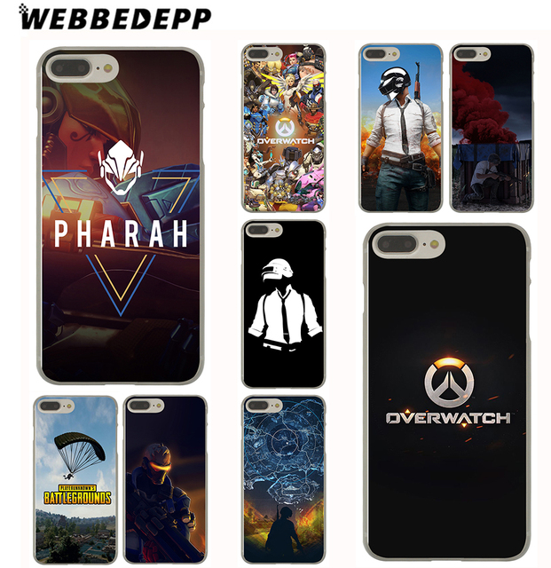 newest 3b3fd a019b Aliexpress.com : Buy WEBBEDEPP PUBG Overwatch Cool Case for iPhone Xr Xs  Max X or 10 8 7 6 6S Plus 5 5S SE 5C 4 4S 7Plus 8Plus from Reliable case  for ...
