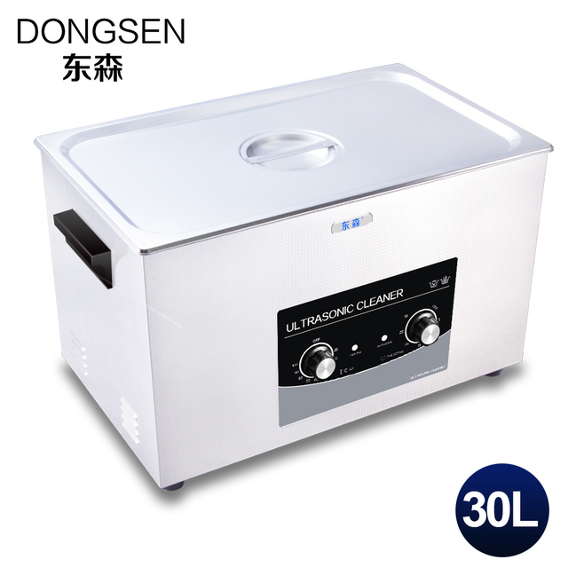30L Ultrasonic Cleaner Time Heat Bath Industry Motocycle Engine Parts Lab Instrument Circuit Board Ultrasound Washer Machine