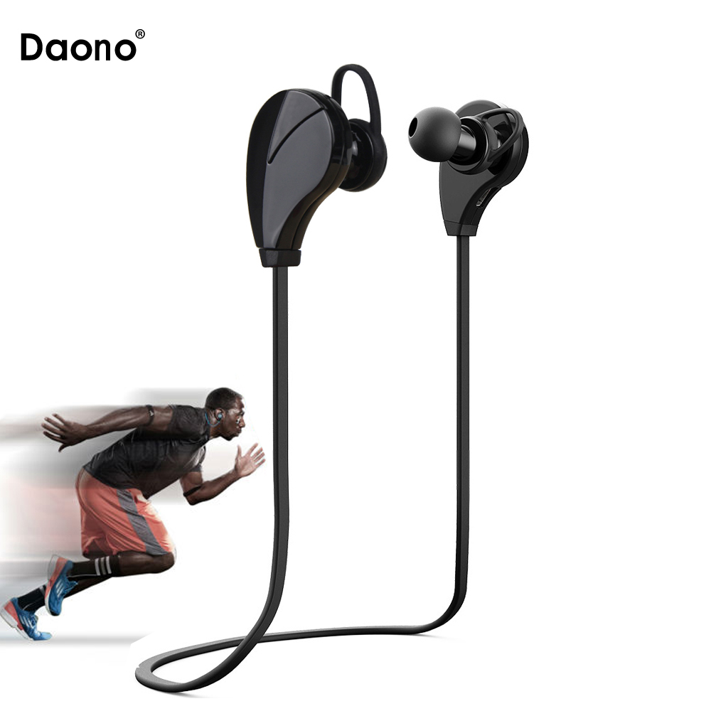 Sport Bluetooth Earphone CSR4.1 Wireless Headphones headset for iphone 6/5/4 galaxy S5/S4/3 iOS/Android with microphone remax rb t2 fashion aluminum bluetooth earphone wireless hd clear sound headset for iphone 5 6 samsung galaxy s4 android phone