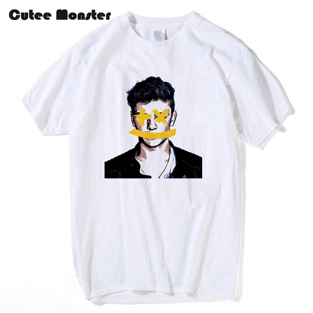 Cutee Monster T shirt Men Martin Garrix Printed Top Tees Hip Hop Music DJ Tees Fans Short Sleeve 100% Cotton Top Tees 3XL
