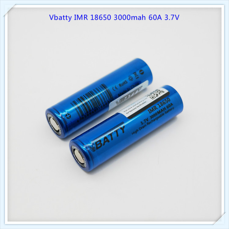High Quality Vbatty IMR V30 18650 3.7V 60a Rechargeable Battery se us18650vtc6 battery original 18650 3000mah 40a li-ion (1pc)