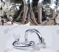 Chrome Motorcycle Crash Bars Engine Guard For Honda CB750 CB 750 RC42 Nighthawk