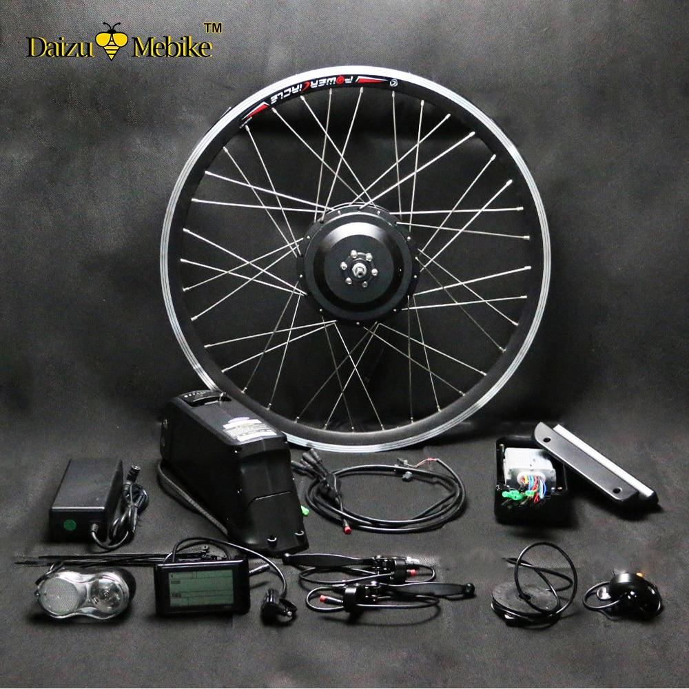 Electric Bike Motor Kit Price: 48V 500W LG SAMSUNG Lithium Battery Brushless 500W 350W
