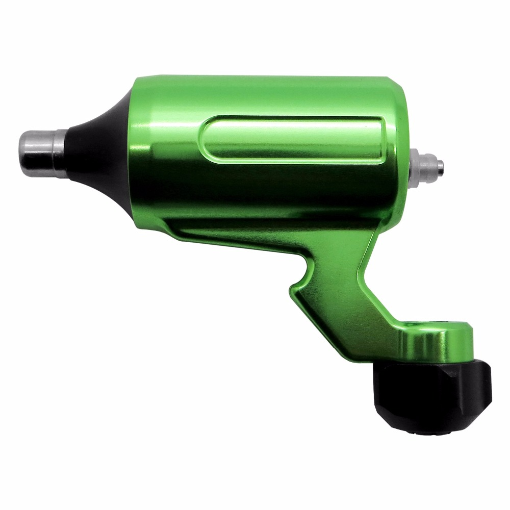 New! High Quality Green Adjustable Stroke Direct Drive Rotary Tattoo Machine Free RCA Cord For Tattoo Supply ручной пылесос handstick dyson v6 cord free extra sv03 350вт желтый
