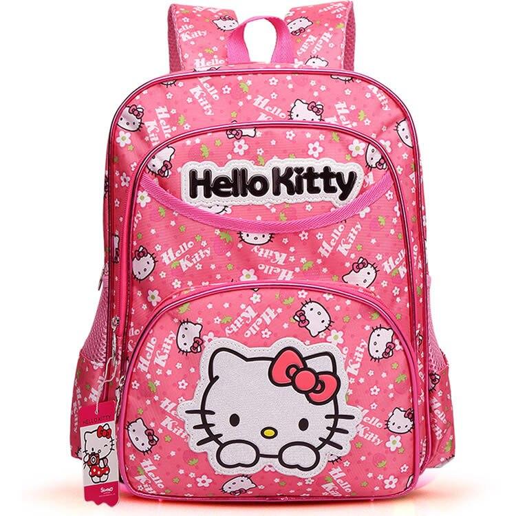 2017 Hot Classic Backpack Children S Schoolbag O Kitty Cartoon Shoulders Backpacks Kids School Bags Cute Book Bag In From Luggage