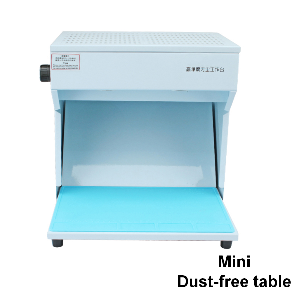 New Mini Dust Free Cleaning Workbench Dustfree Working Room Bench Clean Table Precision instrument Maintenance Repair