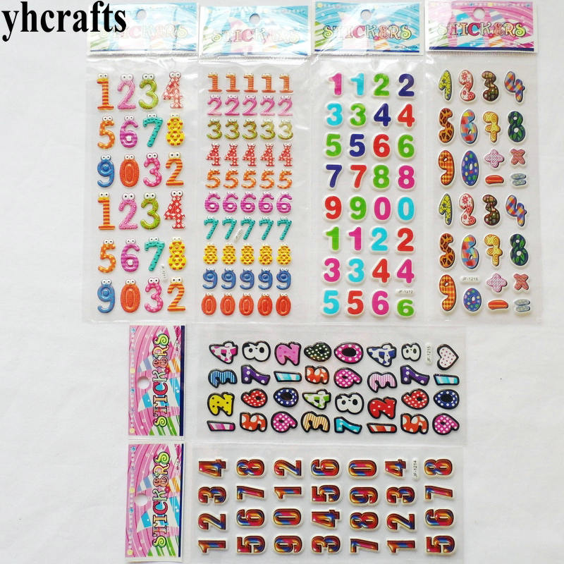 2 Sheets 24mm Vinly White Numbers 0-9 All Number Diary Large Stickers Labels UK