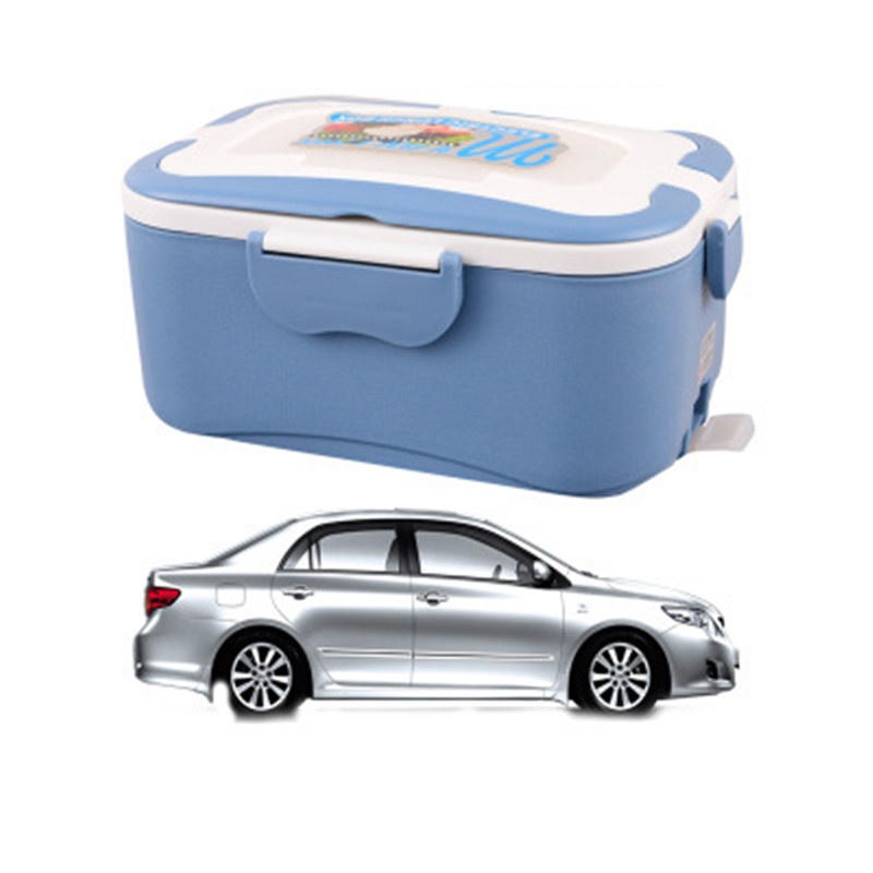 1.5L electric food heating lunch box 220V in house version 12V in car version 24V in truck version separate version not together 62 l large food and beverage car trunk bag refrigerator insulation families waterproof valiz hot lunch bag takeout box suitcase