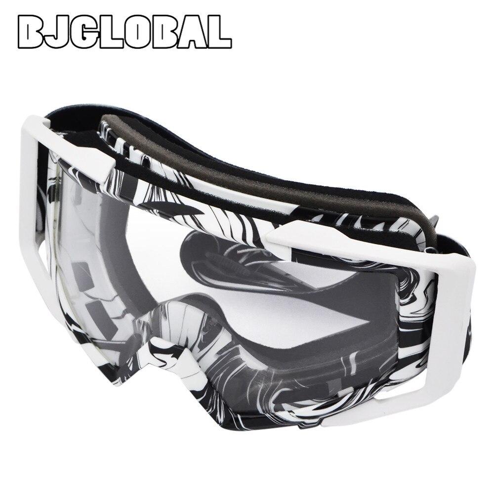 BJGLOBAL Motocross Goggles Graffiti Dirt Bike Oculaire Motorcycle Helmets Goggle Motorbikes Glasses Skiing Skating Eyewear