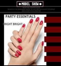 12 colors for choice VOG Free Shipping 4pcs 6ml Wine Red Gel Nail Polish Nail Polish For Nail Art