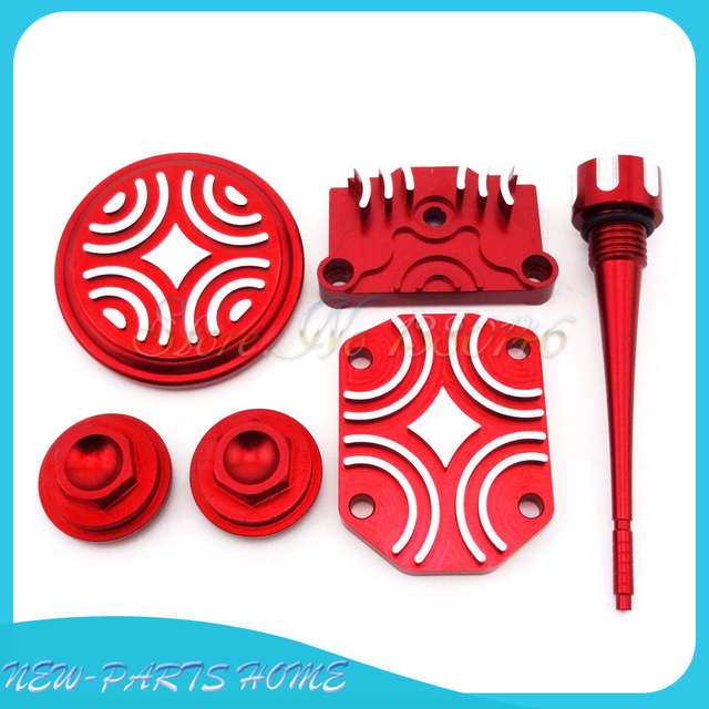 US $32 19 11% OFF|Red Engine Dress Up Kit Tappet Cover Chinese 110cc 125cc  ATV Quad Dirt Pit Bike on Aliexpress com | Alibaba Group