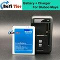100% Nueva Bluboo Maya Batería + Base de Escritorio Cargador de Pared 3000 mAh Batería de respaldo para Bluboo Maya Smartphone + en stock