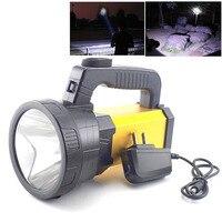 Long range Flashlight Portable LED Flash Lights Hand Torch Fishing Camping lamps Rechargeable battery lanterna Working Light