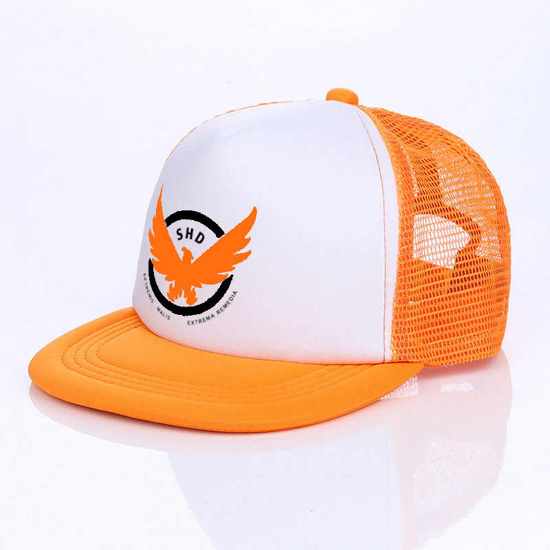e55cfaac85f ... Hot Sale Game Airsoft Cosplay Baseball Cap The Division Tom Clancy s  Snapback Hats Cool SHD Eagle ...