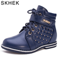 Skhekрезиновые сапоги детская обувь резиновые сапоги детская обувь детская обувь ботинки Martin для маленьких мальчиков обувь Детские ботинки и...