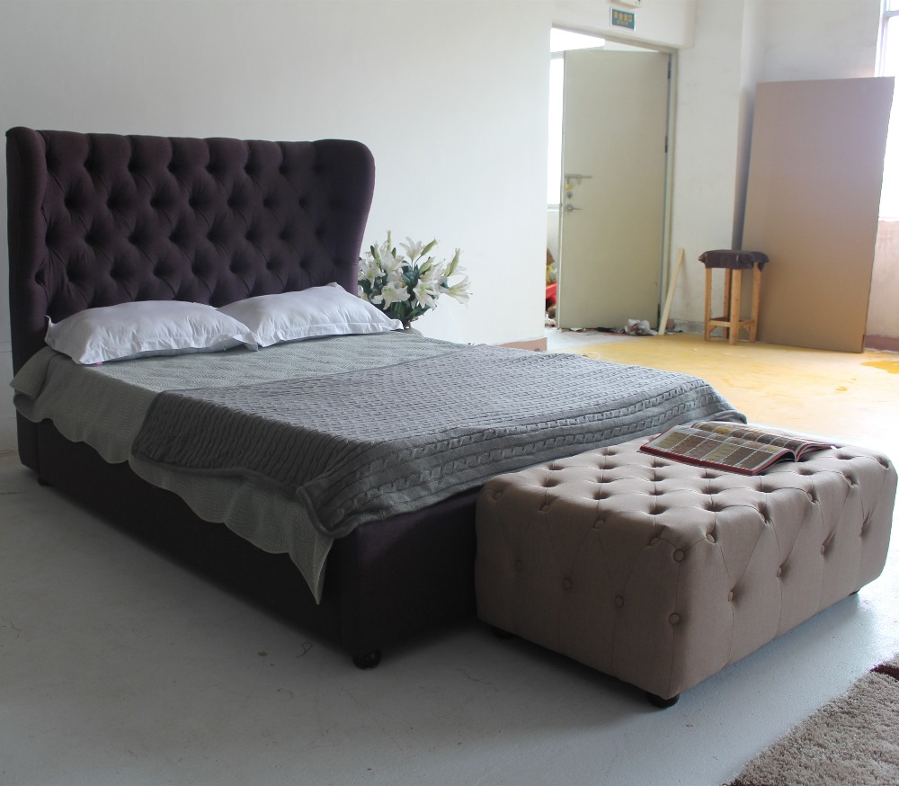 Double bed furniture design - Modern Bedroom Furniture Bed Latest Double Beds Frame Design In China In Beds From Furniture On Aliexpress Com Alibaba Group
