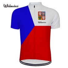 цена на Czech team Jersey Cycling Clothing Ropa Ciclismo Short Sleeve Mens Bicycle Sportswear Maillot Sports Cycling Jersey Shirt 8025