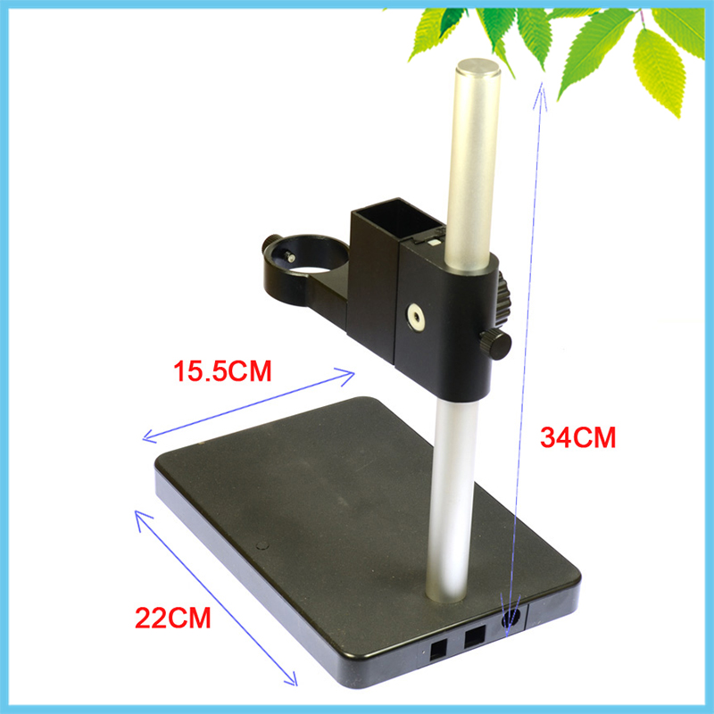 22X15.5cm Metal Universal Lift Mount 42mm Adjustable Stand Elevation for Monocular Digital Microscope