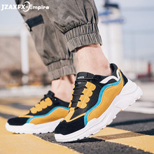 Mens sneakers Colorful Causal Shoes men Increasing thick sole Trend Fashion Cheap Lace Up Outdoor Brand Hombre Zapatos