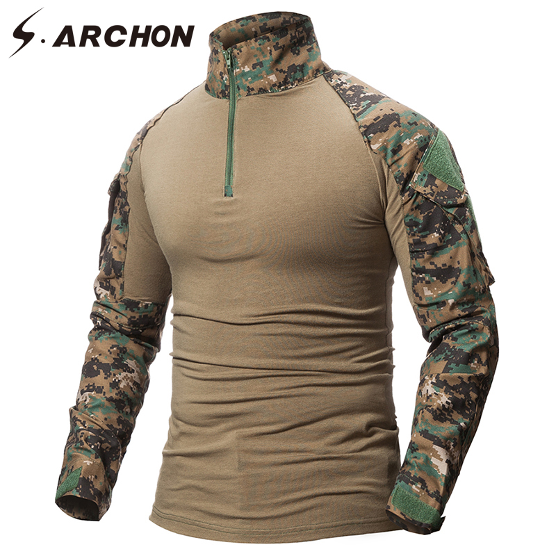 Military Camouflage Shirt Men  5