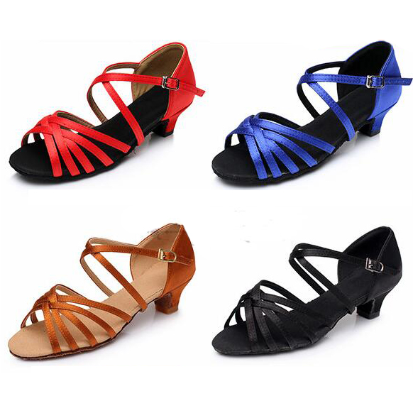 Sapatos de Dança latina Para As Meninas Crianças Zapatos Mujer Zapatos De Mujer Zapatos De Baile Baile Latino Salsa