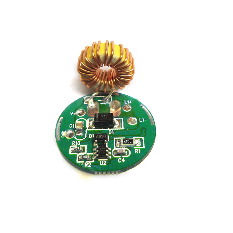 1 mode/ 3 mode Input 3.7V~ 12V DC 20mm <font><b>LED</b></font> <font><b>Driver</b></font> For Cree 10W T6 XML T6 / U2 XM-L2 / U2 <font><b>LED</b></font> Flashlight or 12V Battery Car Light image