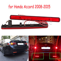 Tail Stop Brake Light Rear Bumper Reflector LED for Acura TSX Sedan 09 14 for Honda for Accord 08 2015 Warning Driving Fog Lamp
