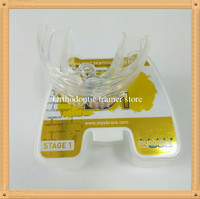 Orthodontic trainer alignment conjunction with fixed braces/MRC Dental Orthodontic brace retainer B1 Improved facial development