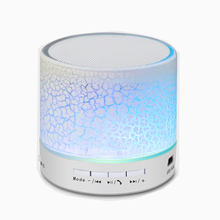 10pcs/lot Mini Bluetooth Speaker Portable LED TF Card MP3 Player USB Wireless Sound Box Subwoofer For Phone PC Notebook Computer
