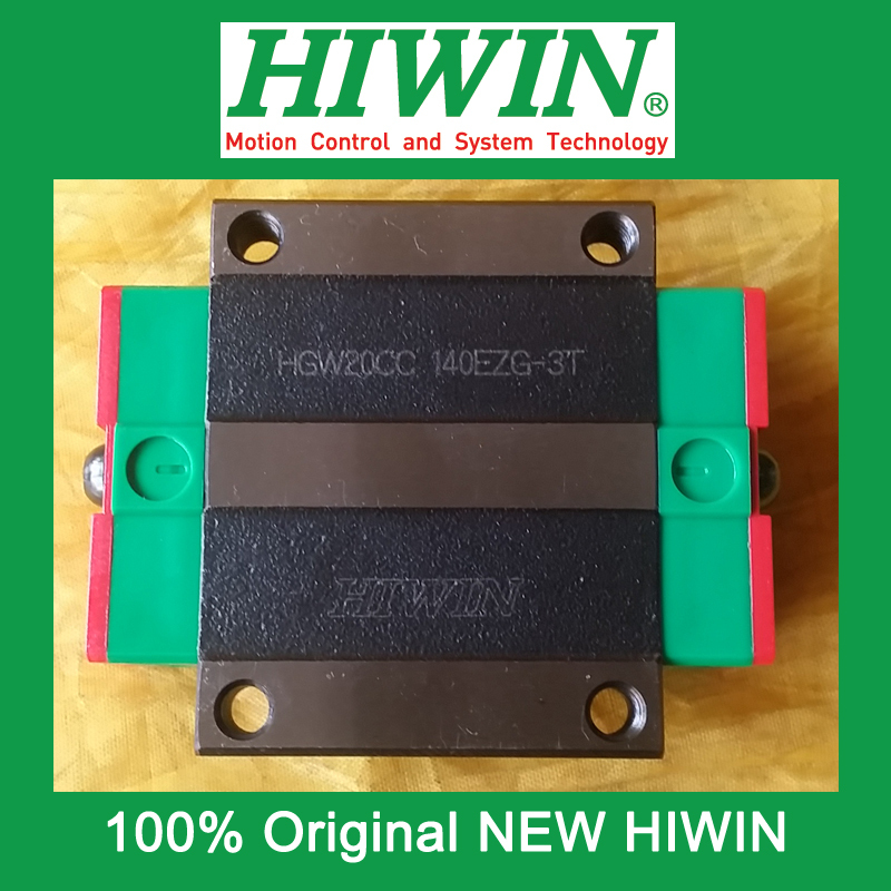 все цены на 1pcs HIWIN HGW20 HGW20CC HG20 New original linear guide block Original HIWIN Linear Guide CNC Parts Stock Good онлайн
