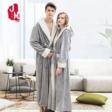 Women's Robe Winter Kimono Robe Bathrobe Long Bathrobe Robe Homewear Sleepwear Dressing Gown Bath Robes Hooded Pijamas недорого