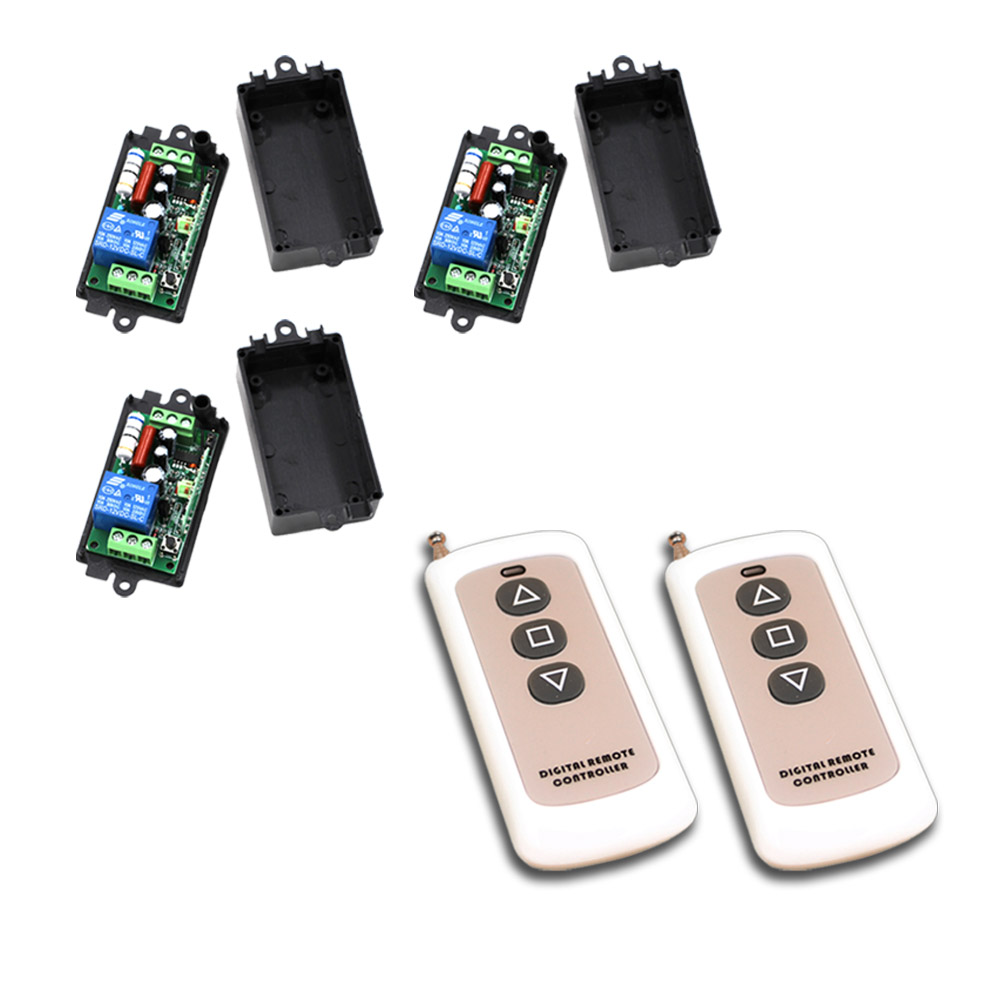 AC 110V/220V Remote Control Switch 1CH 10A Relay Wireless Remote Switch Transmitter Receiver Teleswitch 315Mhz / 433Mhz ac 220v 10a 1ch relay wireless remote control switch system long range transmitter mini size receiver 315mhz 433mhz