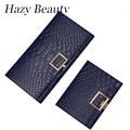 Hazy beauty 2017 crocodile stylish women wallet mini and long size girls money purse hot lady hand wallets pu leather chic DH581