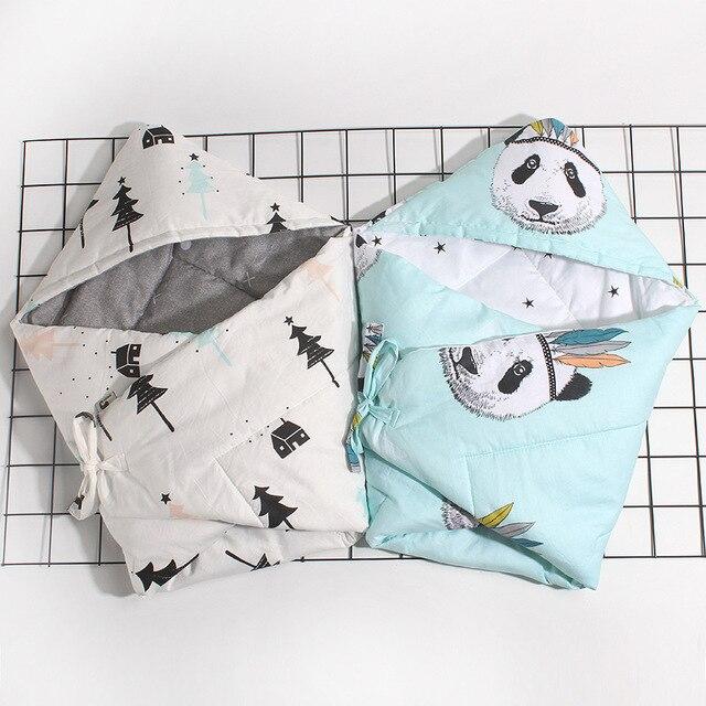 2017 Baby Newborns Infant Kids Cotton Sleeping Bag Blanket Swaddle Wrap Bedding Summer Spring Autumn