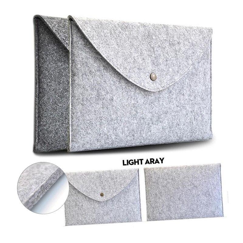 26*20cm 9.7'' Tablet Cover Case Sleeve for Apple iPad 2 3 4 Air 1 2 Envelope Wool Felt Bag for X98 Pro Plus Onda V919 V989 Air