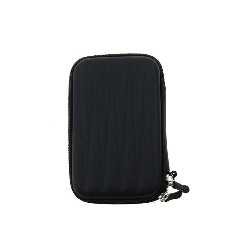 Nworld портативный 2,5 дюймов HDD Внешний жесткий EVA PU чехол для переноски Чехол Сумка для жесткого диска чехол для переноски черный синий