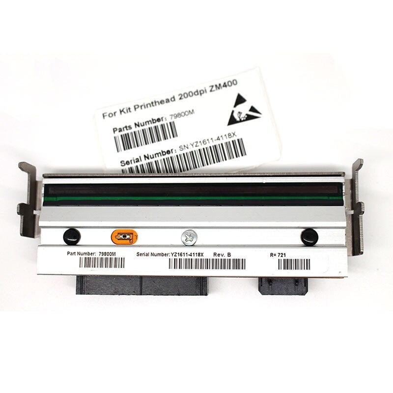 ZM400 printhead For Zebra ZM400 Thermal Barcode Printer 203dpi 79800M Compatible printhead roller belt for zebra zm400 203dpi new and compatible 79800m thermal barcode label printer parts