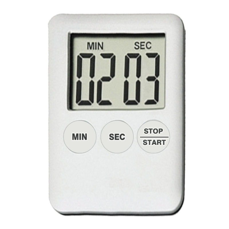 Large LCD Magnetic Digital Timers Kitchen Cooking Timer Count Up