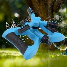 Дешевый регулируемый мобильный автоматический вращающийся на 360 градусов спрей для сада, газона, разбрызгиватель для парка, сада, автоматический разбрызгиватель воды для лужайки