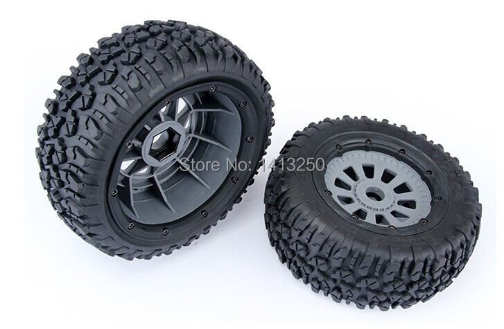LOSI 5T Spare parts, LOSI Tire set  Wheels (4pc/set) losi parts losi tire 2pcs x tyres and wheels for losi 5ive t