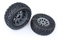 LOSI 5T Spare parts, LOSI Tire set  Wheels (4pc/set)
