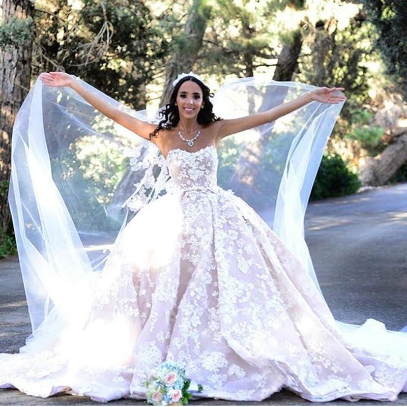 peplum wedding gowns online shopping