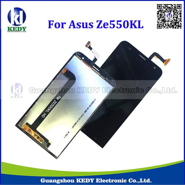 20pcs Genuine Original Smart Phone LCD For Asus ZenFone 2 Laser ZE550KL Z00LD LCD Display Touch Screen Digitizer Assembly