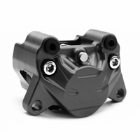 Motorcycle Adapter Bracket Double Piston Brake Calipers With Pads 84mm Mounting For Ducati Rear Brak