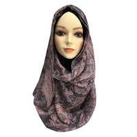 Erwachsene Baumwolle Hijab Muslimische frauen Schal kopf turbane für frauen chemo undian hut muslimischen