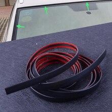 Beler3M 118 cala uszczelka drzwi samochodowych przednia szyba przednia szyberdach Weatherstrip ochraniacz na krawędzie tapicerka gumowy pasek do usuwania zarysowań